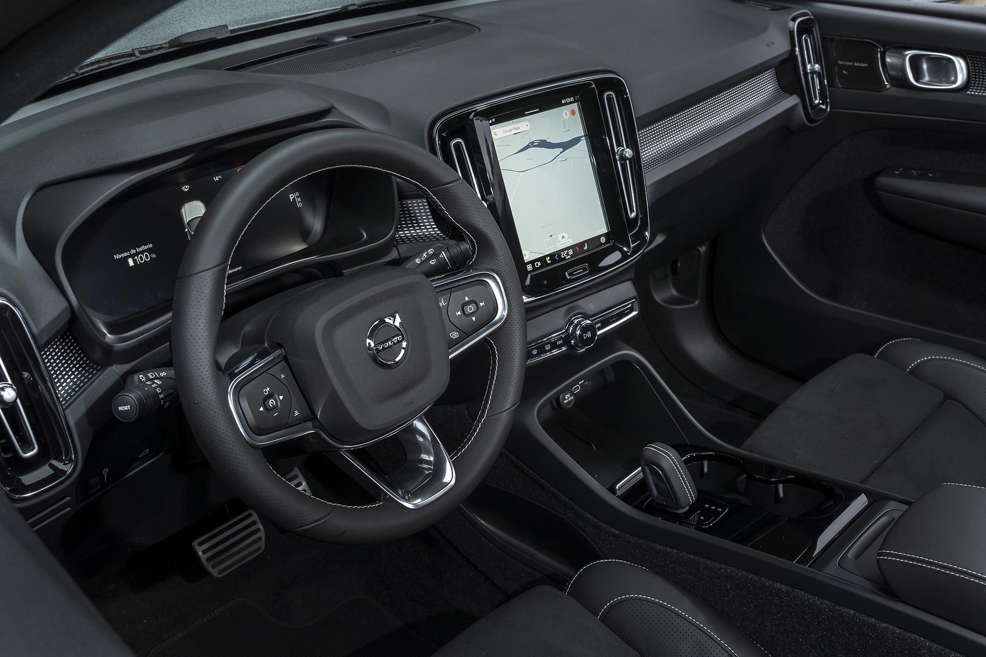 Филиал Google: электромобиль Volvo XC40 Recharge знакомится с украинскими реалиями